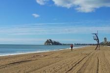 Andando por la Playa